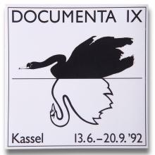 Homepage Martina Dase: Logo DOCUMENTA IX 1992. Foto: Stefan Carstensen.