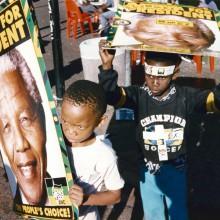 MD Coming Home: 1996, SFB Sondersendung - Mythos Mandela, Wahl 1994; Fotograf: Ulli Zelle
