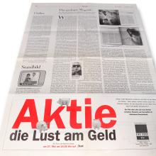 MD Coming Home: 3sat Filme - Aktie: Die Lust am Geld, Anzeige DIE ZEIT; Fotograf: Stefan Carstensen