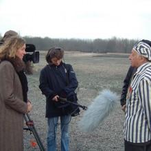 MD Coming Home: 2005, RBB Dokumentarfilm - Schatten des Schweigens, Dreharbeiten Buchenwald 2; Fotograf: Peter Wensierski