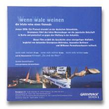 MD Coming Home: 2006, Greenpeace Image Film - Wenn Wale Weinen DVD Rückseite; Fotograf: Stefan Carstensen
