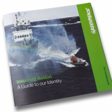MD Coming Home: 2007, Greenpeace Globale Marketingstrategie - Inspiring Action Identity Guide; Fotograf: Stefan Carstensen