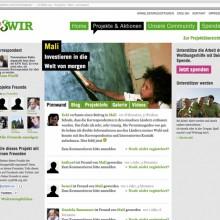 MD Coming Home: 2011, WHH Online Community Projekt - 123wir.org Screenshot 1