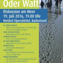 2016_Veranstaltungskonzept_Grüne Dithmarschen_Land_unterland_unter_Plakat